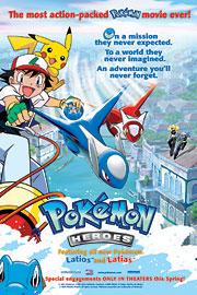 Portada de Pokemon Heroes
